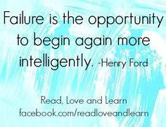 Failure quote via www.Facebook.com/ReadLoveandLearn