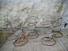 Bed Springs, Salvaged Upcycling, Crafts Ideas, Candles Holders, Jars ...