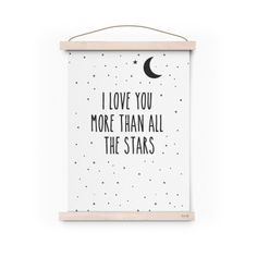 Affiche - I love you more than all stars