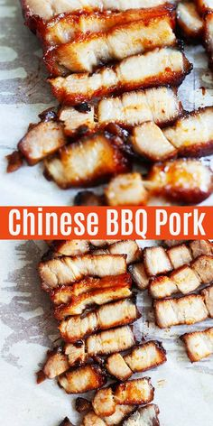 Authentic and homemade Chinese BBQ pork marinated with sticky char siu sauce and roasted in oven. This recipe is easy and tastes just like the best Chinese restaurants. Best Pork Recipe, Pork Recipes, Asian Recipes, Cooking Recipes, Yummy Recipes, Dinner Recipes, Chinese Bbq Pork, Asian Pork, Malaysia