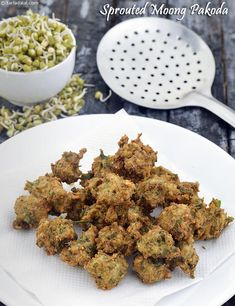 Sprouted Moong Pakoda, Evening Snack