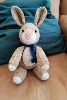 Rose the rabbit amigurumi soft toy. Pattern by Jess Huff. Made by Speckled Tortoise, order online at our website Stuffed Toys, Brighten Your Day, Tortoise, Knit Crochet, Dinosaur Stuffed Animal, Rabbit, Crochet Patterns, African, Website