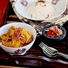 Do you love curry? Try this Indonesian Chicken Curry with Torch Ginger, Gulai Ayam Karo. Another exotic curry from Indonesi