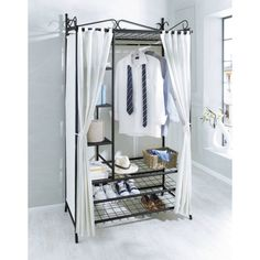 Fresh Wardrobe with shoe rack Air Front View uac xx