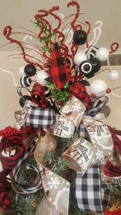 Christmas Ribbon, Christmas Tree Toppers, Christmas Diy, Christmas Wreaths, Xmas, Christmas Ornaments, Fall Wreaths, Easter Wreaths, Country Christmas Decorations