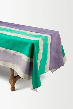 Patina Tablecloth #anthropologie