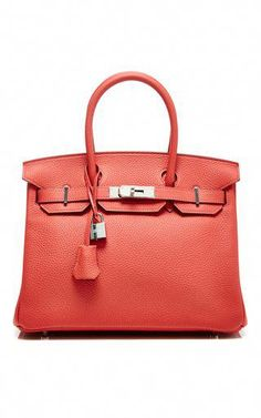 Hermes 30cm rouge pivoine clemence birkin by HERITAGE AUCTIONS SPECIAL  COLLECTION Preorder Now on Moda Operandi 31f8ba09d0487