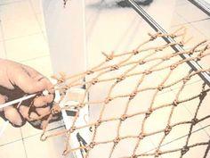 Netten breien in het Nationaal Visserijmuseum