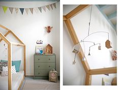 Montessori bed frame