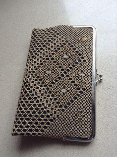Mi bolso de bolillos.  Bolso hecho por Gloria Martin