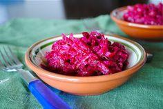 Невыразимая легкость кулинарного бытия...: Салат из сырой свеклы