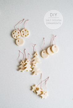 salt dough ornaments -- mitzy at home