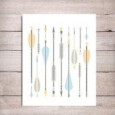 Printable arrow art  Arrow Print Arrow by OnlyPrintableArts