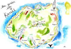 kauai • watercolor sketch