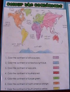 This is a mini lapbook that my daughter, Samiramade to help her learn all about the continents and oceans of the world. I created the templates for this lapbook which you can download HERE. When t...