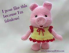 Fabulous Free Amigurumi - crochet, list of free patterns on her site