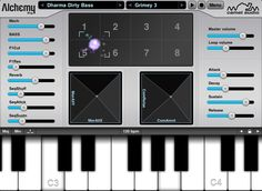 Camel Alchemy is by far my favorite iOS synth. Incredible control over a huge selection of sound libraries. #iOS #synth