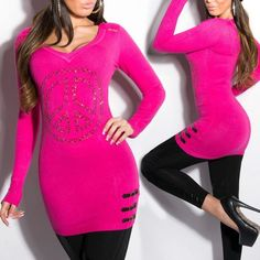 2221cee567 Divatos strasszos testhezálló pulóver - Venus fashion női ruha webáruház -  Elképesztő árak - Szállítás 1-2 munkanap