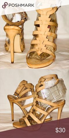 3a0a17b6923b Strappy heeled sandal BRAND NEW - never worn. too small for me size is a