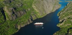 Want to get a little closer to the Norwegian trolls? Consider a trip to Trollfjord!