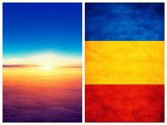 Nice how sunset colors compare to my country flag.