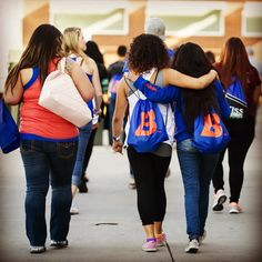 So many good feels at #BoiseState today for #BroncoDay. We've got visitors from 37 states today - welcome!  Campus tours College experiences and all sorts of activities are happening until 2:45pm.  At 3pm join the @boisestatebroncos Football team for #BroncoWalk over by #AlbertsonsStadium. Then hit the tailgate dinner and at 5pm take in the Blue and Orange Spring Game.  broncoday.boisestate.edu  #LiveLikeABronco #GoBroncos