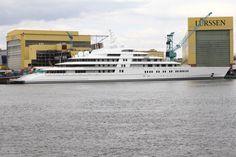 Lo yacht più grande al mondo. Eclipse di Abramovich. Biggerst yacht of the world.