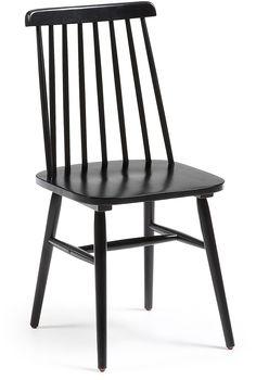 Tressia stoel zwart - LaForma