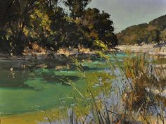 Hill Country Color by Jill Carver Oil ~ 30 x 40