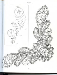 Russian Lace Making - Bridget Cook - lini diaz - Picasa Web Album Bobbin Lace Patterns, Embroidery Patterns, Crochet Motifs, Crochet Lace, Bruges Lace, Romanian Lace, Lacemaking, Lace Heart, Point Lace