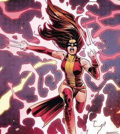 Marvel Women, Marvel Dc, Marvel Comics, X Men, Eye Drawing Simple, Hero Girl, Dc Heroes, Scarlet Witch, My Girl