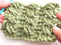 crochet cables tutorial