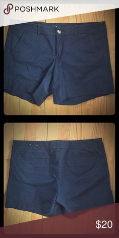 American Eagle Outfitters Midi Stretch Shorts Navy blue American Eagle Outfitters Shorts Cargos