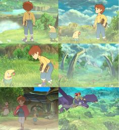 Ni No Kuni- I want a dragon, but I haven't gotten that far. The day I do, I will like die and then go back to playing.