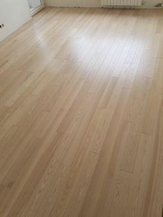 Ash Natural wood flooring, Select grade.