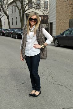 Jessica from Bows & Sequins wearing Citizens of Humanity jeans