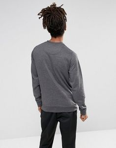 Element Cornell Logo Sweat In Charcoal - Gray