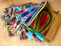 African Wax fabric clutch by Hot Bags Turn by DazzlingGypsyQueen, €49.95