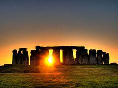 Jour du Solstice d'été à Stonehenge, Angleterre