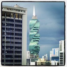 F & F Tower Panama. Photo submitted by Instagram user cathleenlee to #GEInspiredME campaign.