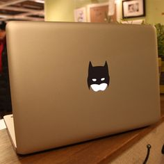 Batman Macbook decal Mac Vinyl decal Macbook by freestickersdecal
