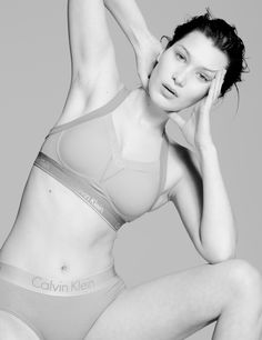 Bella Hadid in #MyCalvins for CR Fashion Book = the dream <3 photographed by Paul Jung.