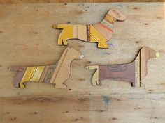 Upcycled Dachshund by hatchettdesigns on Etsy - for me of course ♥