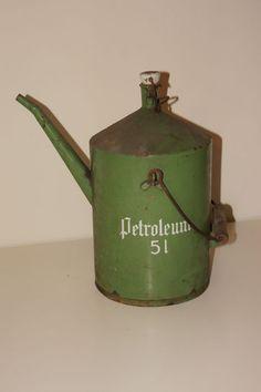 Online veilinghuis Catawiki: Emaille Petroleum kan 5 liter