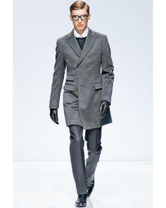 Top Coats  Men s Fall Fashion Trend  Fashion Shows  GQ Grey Fashion, Fashion 3ab3a4ea59e