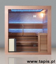 Portable Sauna, Steam Sauna, Sauna Room, Steam Showers, Blinds, Bathrooms, House Ideas, Spa, Wood