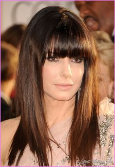cool Hairdos with bangs and long hair