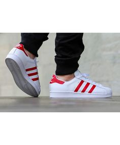 new styles e0852 328c8 Adidas Original Superstar Scarlet Red Trainers Sale UK Adidas Trainers  Mens, Adidas Superstar Trainers,