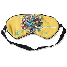 WLHZQS Suicide Squad Natural Silk Eye Mask without Ice Bag -- Click image to review more details. (This is an affiliate link)