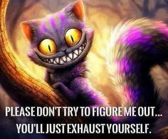 Inspiring picture alice in wonderland, alice no pais das maravilhas, cat, cheshire. Find the picture to your taste! Citations Disney, Citations Film, Cat Alice, Cheshire Cat Quotes, Figure Me Out, Chesire Cat, Alice And Wonderland Quotes, Were All Mad Here, Disney Quotes